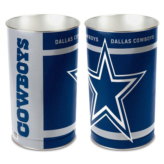 "NFL Dallas Cowboys 15"" Waste Basket"