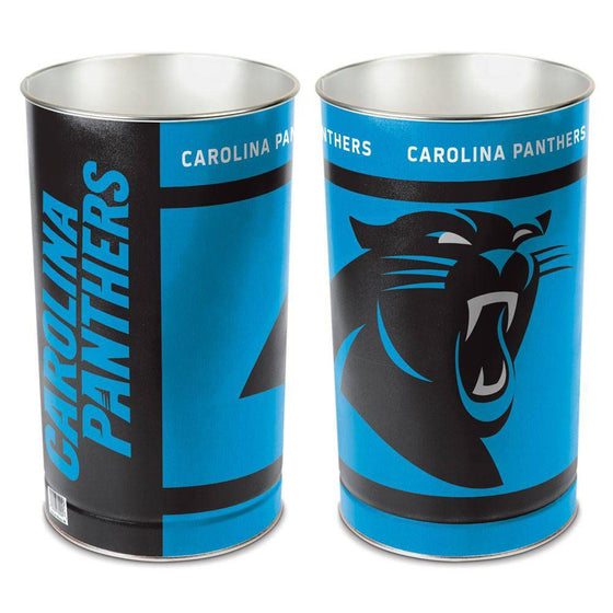 "NFL Carolina Panthers 15"" Waste Basket"