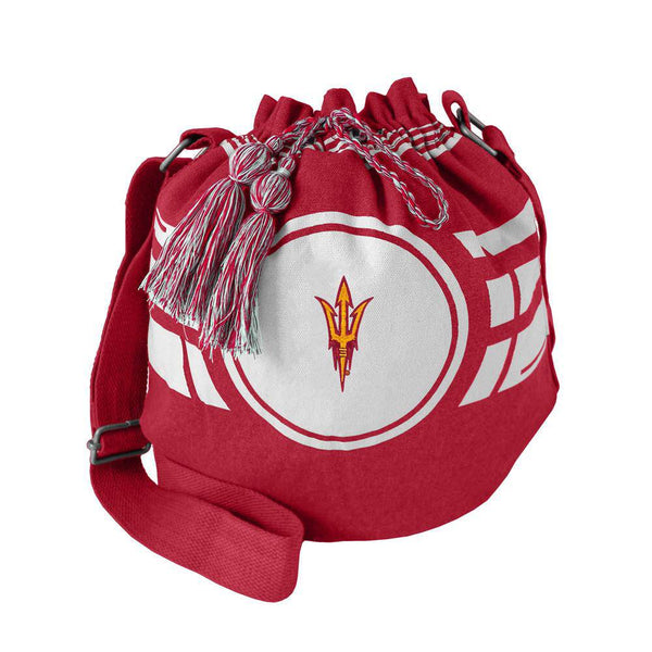 Arizona State Sun Devils Ripple Drawstring Bucket Bag (CDG)