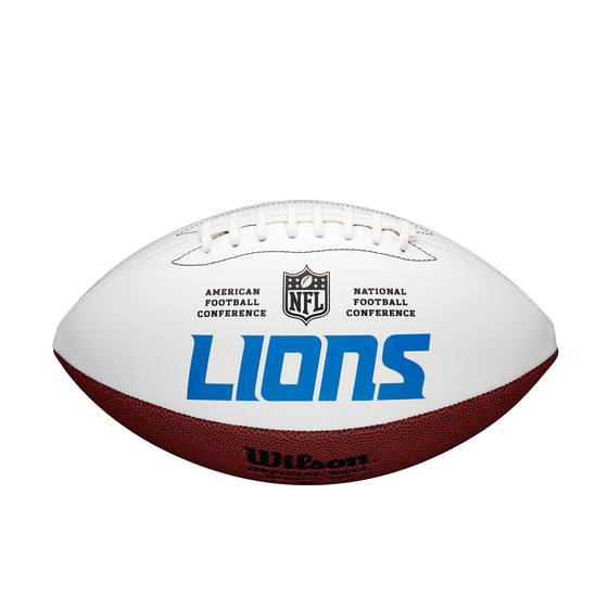 Detroit Lions Football Full Size Autographable