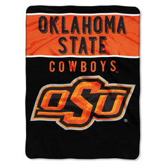 Oklahoma State Cowboys Blanket 60x80 Raschel Basic Design Special Order (CDG)