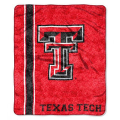 Texas Tech Red Raiders Blanket 50x60 Sherpa Jersey Design (CDG)