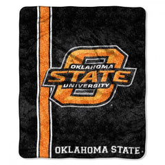Oklahoma State Cowboys Blanket 50x60 Sherpa Jersey Design (CDG)