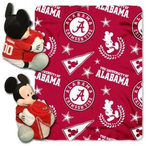 Alabama Crimson Tide Blanket Disney Hugger (CDG)
