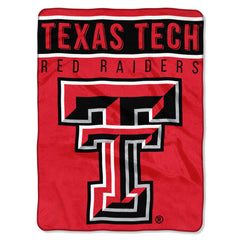 Texas Tech Red Raiders Blanket 60x80 Raschel Basic Design Special Order (CDG)