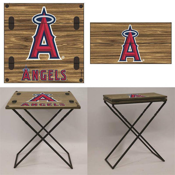 "Preorder - Los Angeles Angels Folding Armchair Portable Table 20""x20""x24"""