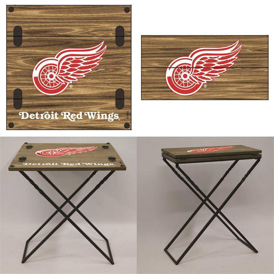 "Preorder - Detroit Red Wings Folding Armchair Portable Table 20""x20""x24"""