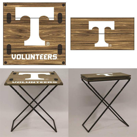 "Preorder - Tennessee Volunteers Folding Armchair Portable Table 20""x20""x24"""