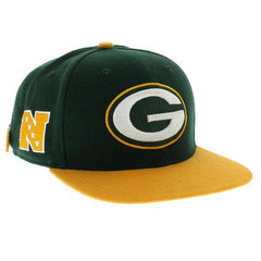 Green Bay Packers Two Tone Sure Shot Adjustable Strapback Hat OSFM '47 Brand