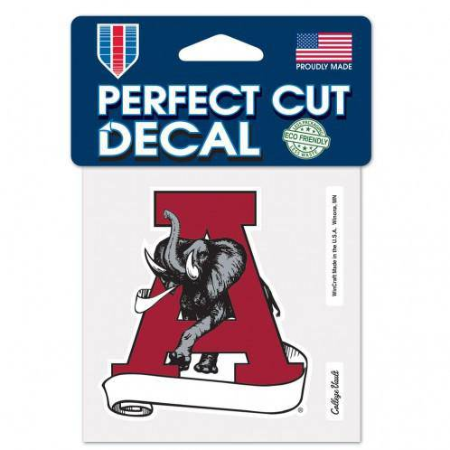 Alabama Crimson Tide Perfect Cut 4x4 Diecut Decal - 757 Sports Collectibles