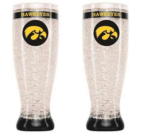 Iowa Hawkeyes Crystal Pilsner Glass (CDG)
