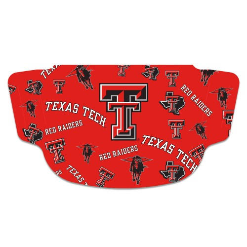 Texas Tech Red Raiders Face Mask Fan Gear Special Order