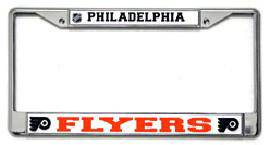 Philadelphia Flyers Chrome License Plate Frame (CDG)
