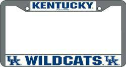 Kentucky Wildcats Chrome License Plate Frame (CDG)