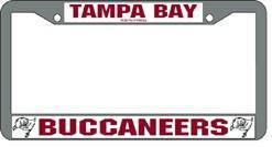 Tampa Bay Buccaneers Chrome License Plate Frame (CDG)