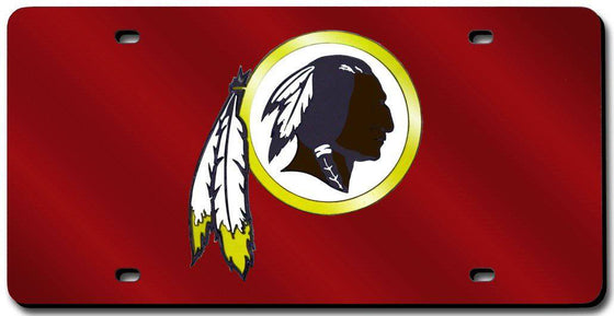 Washington Redskins Laser Cut Red License Plate (CDG)