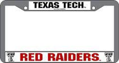 Texas Tech Red Raiders Chrome License Plate Frame (CDG)