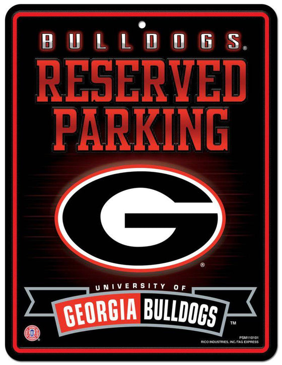 Georgia Bulldogs Metal Parking Sign (CDG)