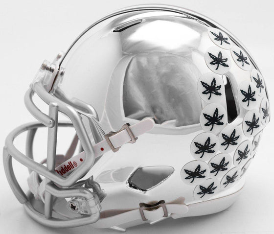 Ohio State Buckeyes Chrome Speed Mini Helmet