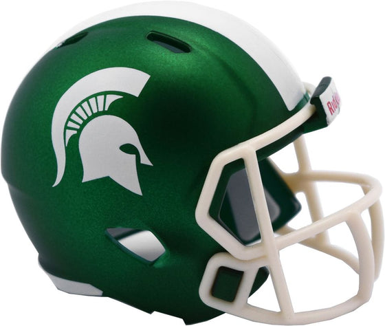 Michigan State Spartans Helmet Riddell Pocket Pro Speed Style 2017