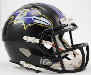 Baltimore Ravens Speed Mini Helmet (CDG)