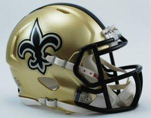 New Orleans Saints Speed Mini Helmet (CDG)