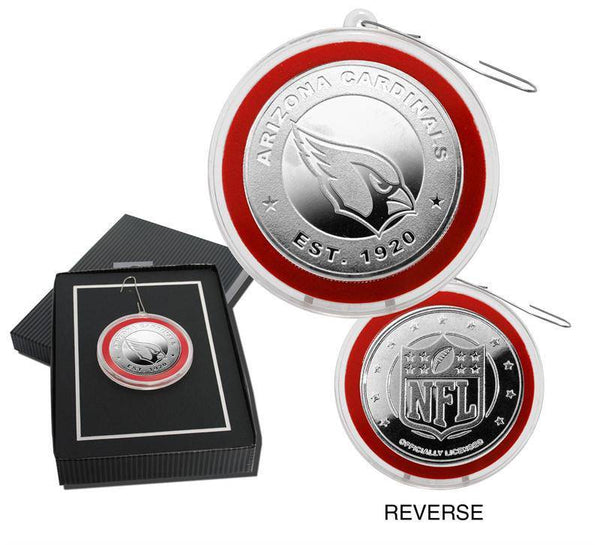 Arizona Cardinals Silver Coin Ornament (HM)