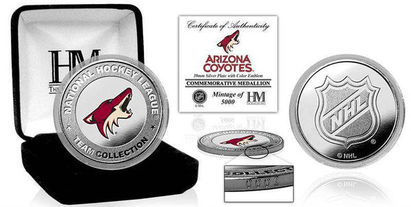 Arizona Coyotes Silver Color Coin (HM)