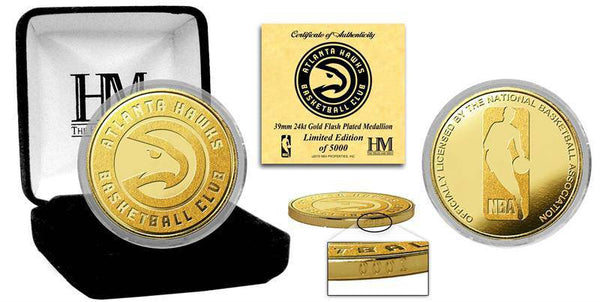 Atlanta Hawks Gold Mint Coin (HM)