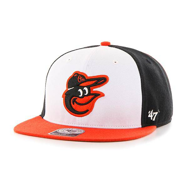 Baltimore Orioles Amble 47 Captain Adjustable Hat OSFM