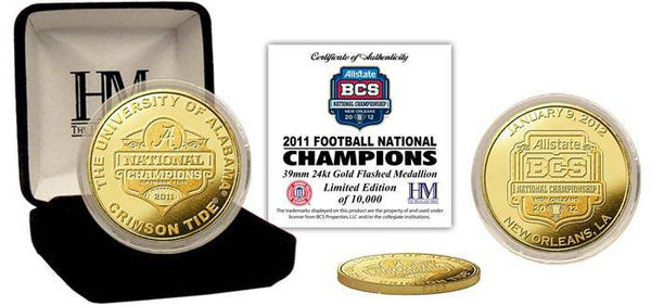 2011 BCS Champions Commemorative Gold Coin (HM)