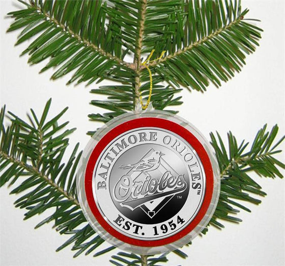 Baltimore Orioles Silver Coin Ornament (HM)
