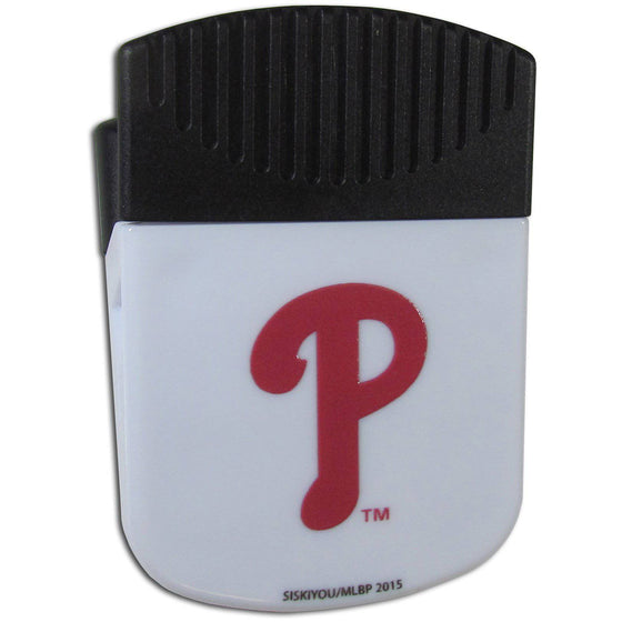 MLB Philadelphia Philles Magnetic Chip Multipurpose Clip - 757 Sports Collectibles