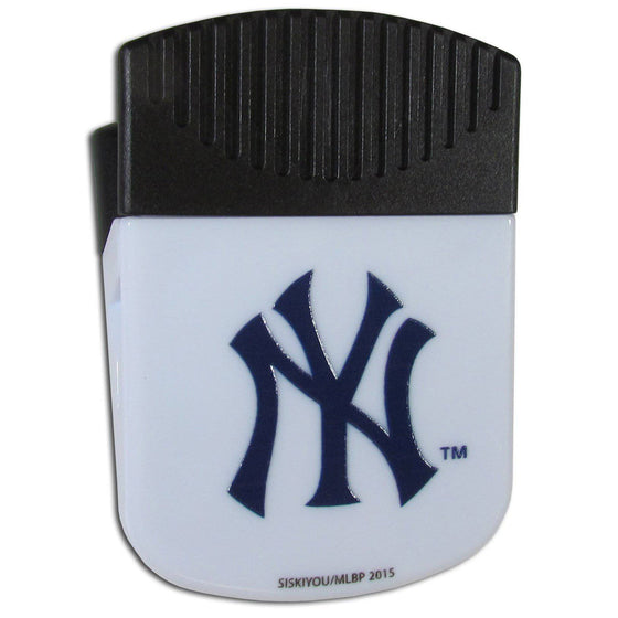 MLB New YorkYankees Magnetic Chip Multipurpose Clip