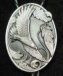 Large Bolo - Flying Eagle (Diamond Cut) (SSKG) - 757 Sports Collectibles