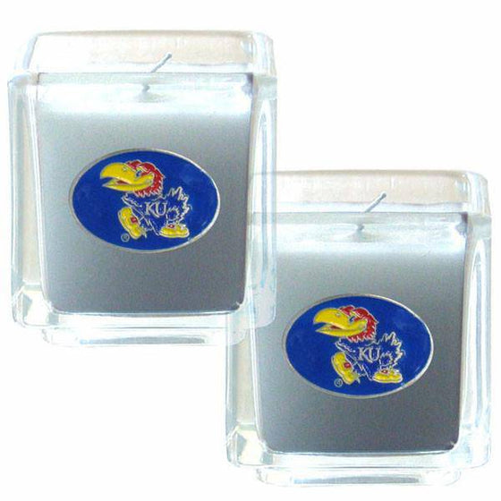 Kansas Jayhawks Scented Candle Set (SSKG)