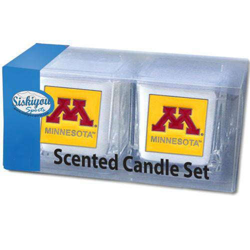 Minnesota Golden Gophers Scented Candle Set (SSKG) - 757 Sports Collectibles