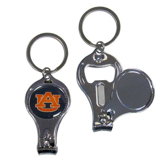 Auburn Tigers Nail Care/Bottle Opener Key Chain (SSKG) - 757 Sports Collectibles