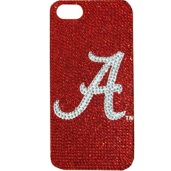 Alabama Crimson Tide iPhone 5/5S Glitz Snap on Case (SSKG)