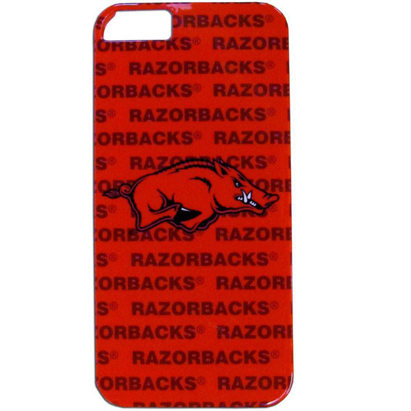 Arkansas Razorbacks iPhone 5/5S Graphics Snap on Case (SSKG)