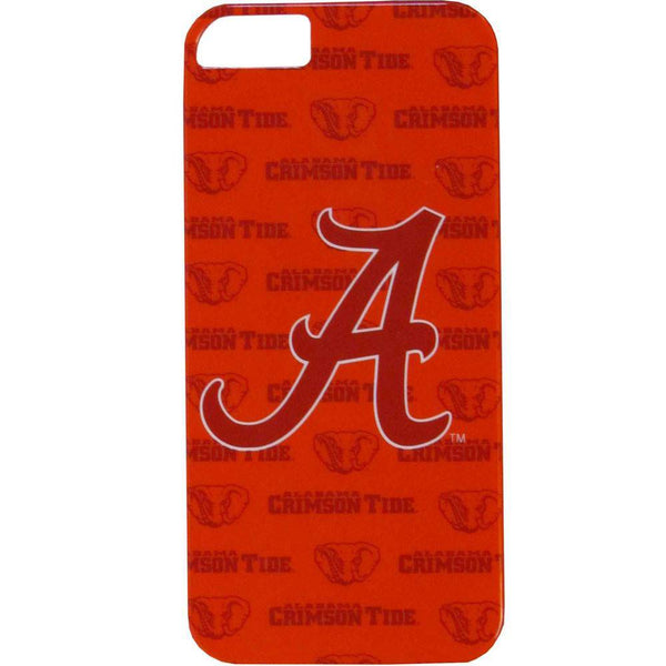 Alabama Crimson Tide iPhone 5/5S Graphics Snap on Case (SSKG)