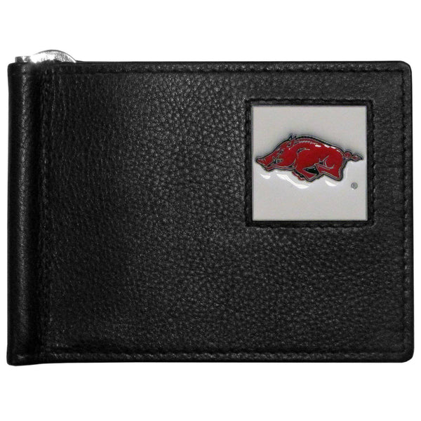 Arkansas Razorbacks Leather Bill Clip Wallet (SSKG)