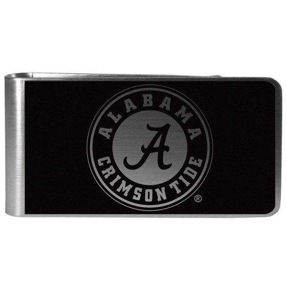 Alabama Crimson Tide Black and Steel Money Clip (SSKG)