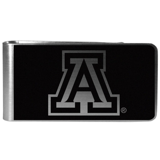 Arizona Wildcats Black and Steel Money Clip (SSKG)