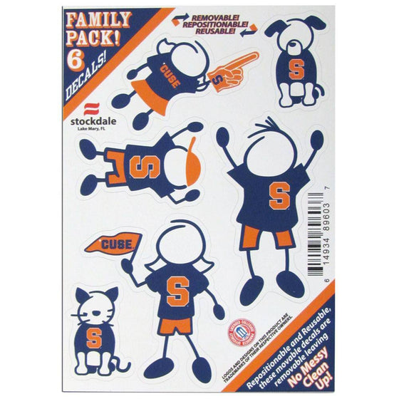 Syracuse Orange Family Decal Set Small (SSKG)