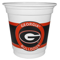 Georgia Bulldogs 18 Game Day Mini Cups (SSKG)
