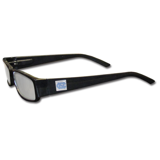 N. Carolina Tar Heels Black Reading Glasses +2.00 (SSKG)