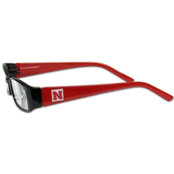 Nebraska Cornhuskers Reading Glasses +2.25 (SSKG)