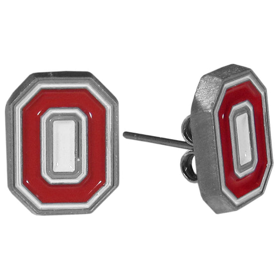 Ohio St. Buckeyes Stud Earrings (SSKG)