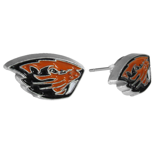 Oregon St. Beavers Stud Earrings (SSKG)